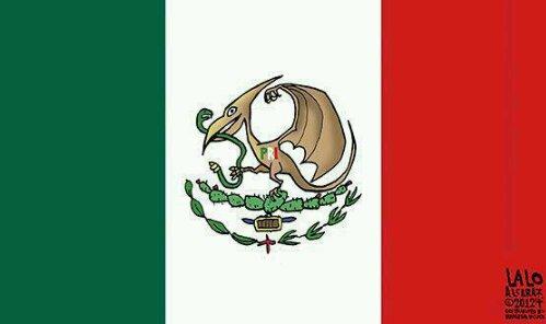 Bandera de México 2012